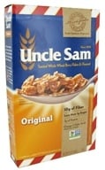 Uncle Sam - Toasted Whole Wheat Berry Flakes & Flaxseed Cereal Original - 13 oz. (041653457001)