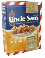 Uncle Sam - Toasted Whole Wheat Berry Flakes & Flaxseed Cereal Original - 10 oz. (041653456783)