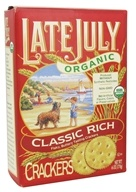 Late July Organic - Classic Rich Crackers - 6 oz.
