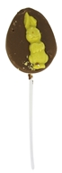 Sjaak's Organic Chocolate - Vegan Milk Chocolate Easter Bunny Lollipops - 1.25 oz.