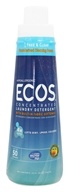 Earth Friendly - ECOS 4X Ultra Strength Concentrated Laundry Detergent Free and Clear - 25 oz.