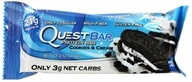 Image of Quest Nutrition - Quest Bar Protein Bar Cookies & Cream - 2.12 oz.