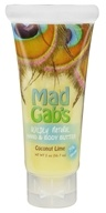 Mad Gab's - Wildly Natural Hand & Body Butter Coconut Lime - 2 oz.