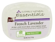 Clearly Natural - Glycerine Soap Bar French Lavender - 4 oz.