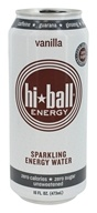 Hi Ball - Sparkling Energy Water Vanilla - 16 oz. (897351000526)