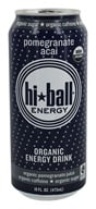 Hi Ball - Organic Energy Drink Pomegranate Acai - 16 oz.