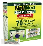 NeilMed Pharmaceuticals - Sinus Rinse Extra Strength - 70 Premixed Packets