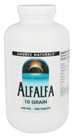 Source Naturals - Alfalfa 10 Grain 648 mg. - 500 Tablets