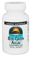 Source Naturals - Blue-Green Algae 500 mg. - 100 Tablets