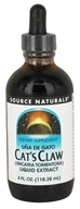 Source Naturals - Cat's Claw Bark Liquid Extract - 4 oz.
