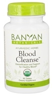 Banyan Botanicals - Organic Blood Cleanse 500 mg. - 90 Tablets