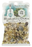 Prabhuji's Gifts - Herbal Resin Incense Svadhisthana Chakra Sensuality & Creativity - 1.2 oz.