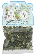 Prabhuji's Gifts - Herbal Resin Incense Ajna Chakra Concentration & Intuition - 1.2 oz.