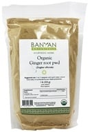 Banyan Botanicals - Organic Ginger Root Powder (Zingiber Officinale) - 1 lb.