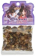 Prabhuji's Gifts - Herbal Resin Incense Shanti Peaceful Home - 1.2 oz.