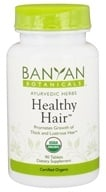 Banyan Botanicals - Organic Healthy Hair 500 mg. - 90 Tablets