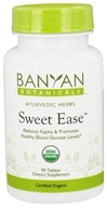 Banyan Botanicals - Organic Sweet Ease 500 mg. - 90 Tablets