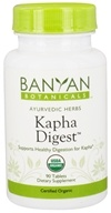 Banyan Botanicals - Organic Kapha Digest 500 mg. - 90 Tablets