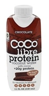 Coco Libre - Protein Coconut Water with Cocoa Chocolate - 11 oz.