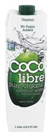 Coco Libre - Pure Organic Coconut Water Unflavored - 1 Liter