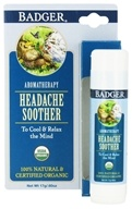 Badger - Headache Soother Balm Stick - 0.6 oz.