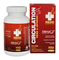 Redd Remedies - Circulation VA Whole Food Nattokinase - 60 Vegetarian Capsules