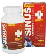 Redd Remedies - Children's Sinus Support Cherry - 60 Chewable Tablets
