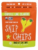Wonderfully Raw - Snip Chips Parsnip-Coconut Snack Mix Chipotle Lime Cilantro - 2 oz.