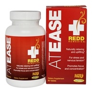 Redd Remedies - At Ease Relaxation for Focus and Concentration - 80 Tablet(s)