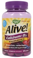 Nature's Way - Alive Calcium Gummies Plus Vitamin D3 - 60 Gummies