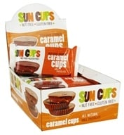 Sun Cups - Gluten Free Ooey-Gooey Goodness Caramel Cups Milk Chocolate - 1.5 oz.