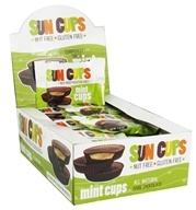 Sun Cups - Gluten Free Terrifically Tingly Mint Cup Dark Chocolate - 0.75 oz.