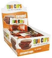 Sun Cups - Gluten Free Ooey-Gooey Goodness Caramel Cups Milk Chocolate - 0.75 oz.