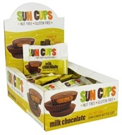 Sun Cups - Gluten Free Yummy in the Tummy Sunflower Butter Cup Milk Chocolate - 0.75 oz.