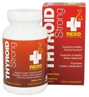 Redd Remedies - Thyroid Strong - 60 Vegetarian Capsules