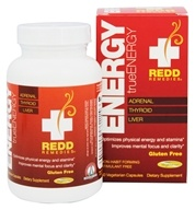 Redd Remedies - trueEnergy Adrenal, Thyroid, & Liver Support - 50 Vegetarian Capsules