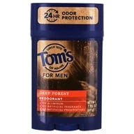 Tom's of Maine - All Natural Long Lasting Men's Wide Deodorant Stick Deep Forest - 2.25 oz.
