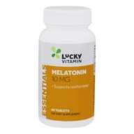 LuckyVitamin - Melatonin 10 mg. - 60 Tablets