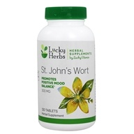 LuckyHerbs - St. John's Wort by LuckyVitamin 300 mg. - 120 Tablet(s)