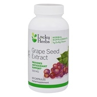 LuckyHerbs - Grape Seed Extract by LuckyVitamin 300 mg. - 60 Capsules