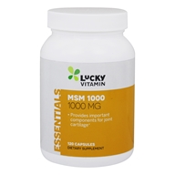 LuckyVitamin - MSM 1000 mg. - 120 Capsules