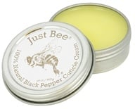 Just Bee Cosmetics - 100% Natural Black Pepper Cuticle Cream - 0.69 oz.