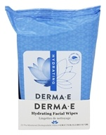 Derma-E - Hydrating Facial Wipes - 25 Count