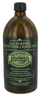 Le Savonnier Marseillais - All-Purpose Liquid Soap Unscented - 1 Liter