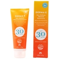 DERMA-E - Natural Mineral Broad Spectrum Sunscreen Body 30 SPF - 4 oz.