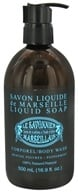 Le Savonnier Marseillais - Body Wash Liquid Soap Peppermint - 16.9 oz.