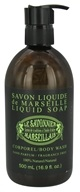 Le Savonnier Marseillais - Body Wash Liquid Soap Fragrance-Free - 16.9 oz.