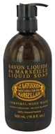 Le Savonnier Marseillais - Body Wash Liquid Soap Orange Blossom - 16.9 oz.