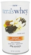 Tera's Whey - Goat Whey Protein Vanilla Honey - 12 oz.