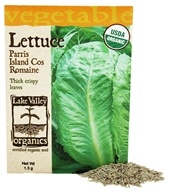 Lake Valley Seed - Organic Lettuce Parris Island Cos Romaine Seeds - 1.5 Gram(s)